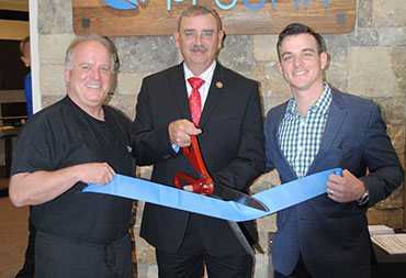 Ribbon Cutting with our iGrin dentists