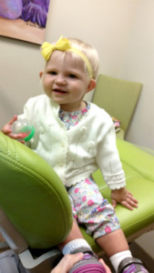 baby blonde at iGrin Pediatric Dentistry