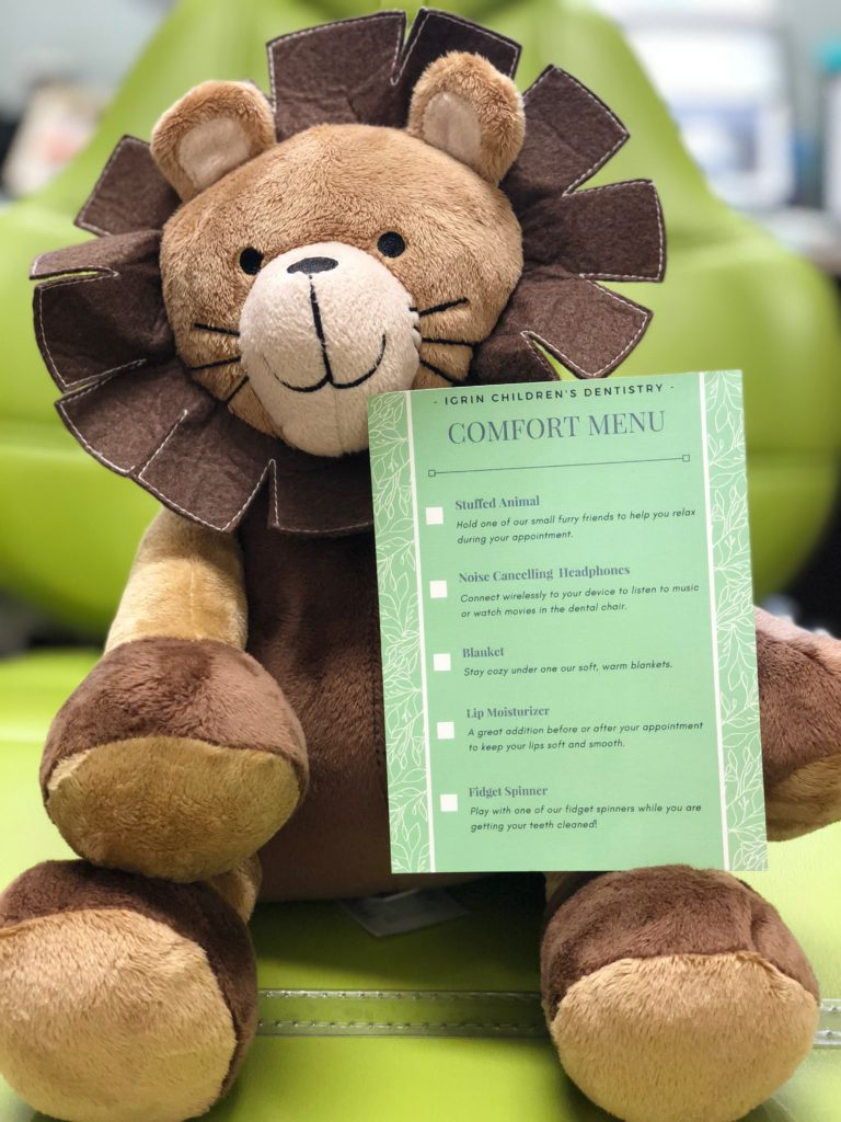 Complimentary Comfort Menu Offered to All Patients