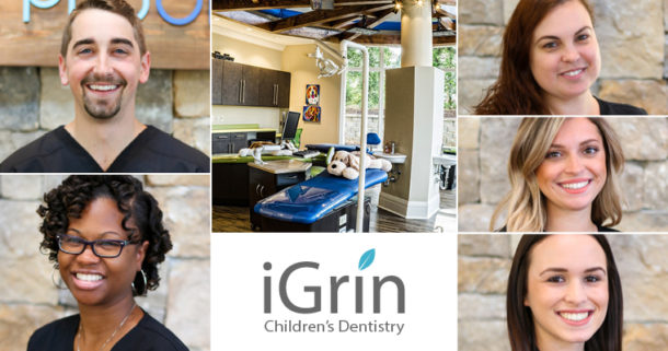 The iGrin Children's Dentistry team in Boiling Springs